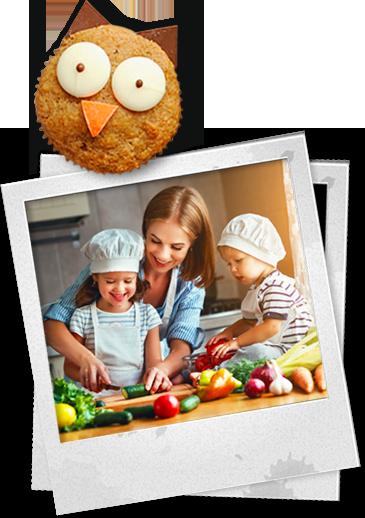 recetas niños, recetas divertidas